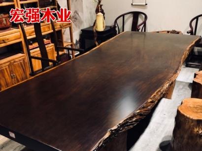 黑檀大板桌