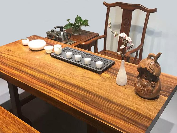 奥坎实木大板桌厂家