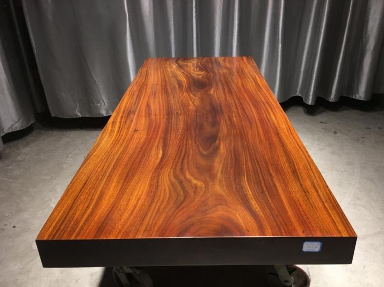 北京奥坎实木大板桌