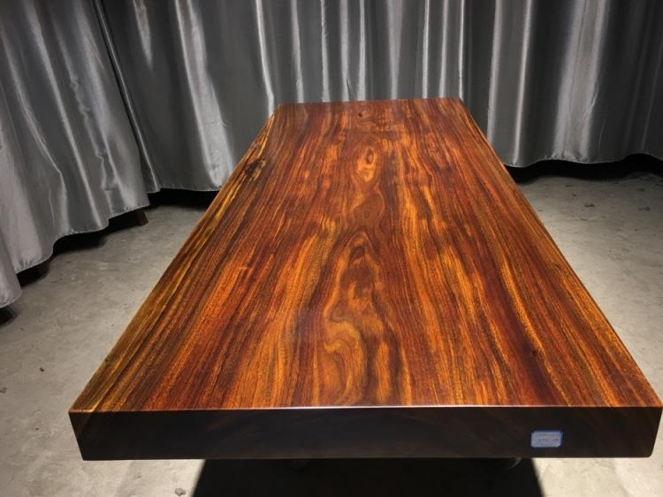 石家庄奥坎实木大板桌