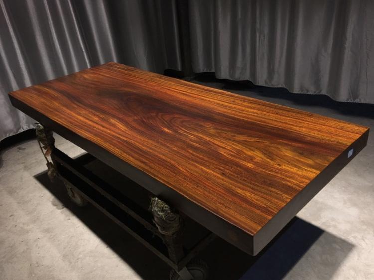 江苏奥坎实木大板桌