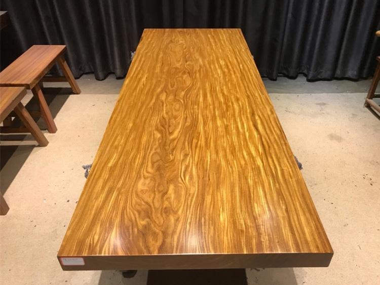 邯郸柚木实木大板桌