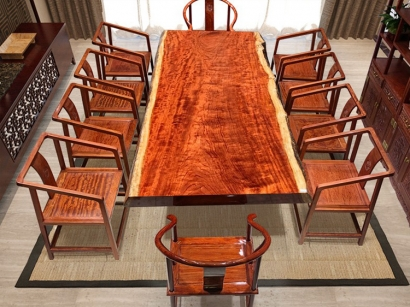 陕西实木大板桌厂家