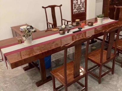 冠县实木大板桌