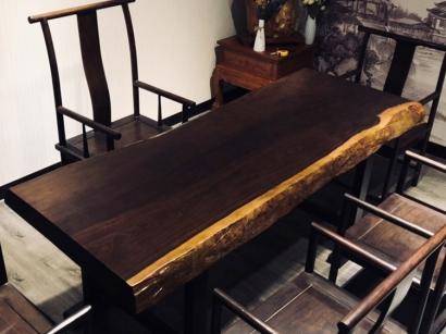 天津实木大板桌