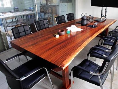 奥坎实木大板桌生产厂家