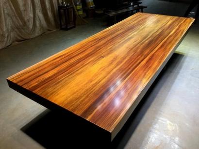 聊城奥坎实木大板桌