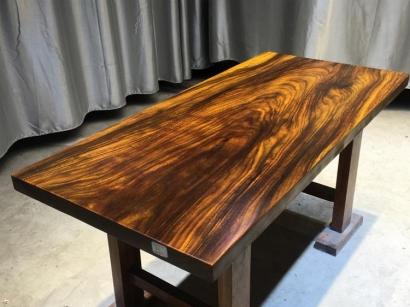 河南奥坎实木大板桌