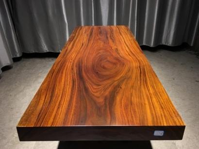 山西奥坎实木大板桌
