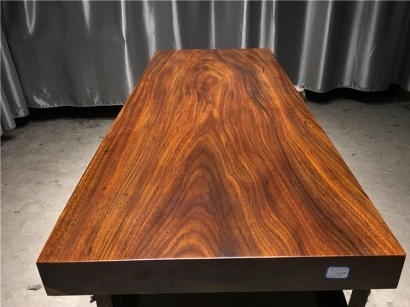 河北奥坎实木大板桌