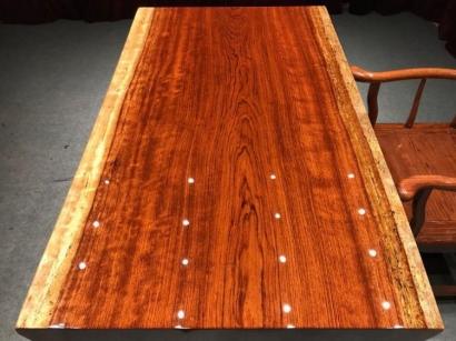 巴花实木大板桌价格