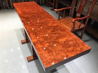 巴花实木大板桌厂家