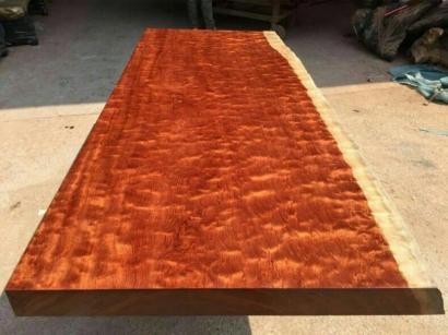 陕西巴花实木大板桌