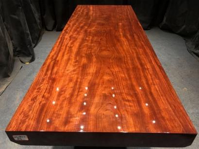 北京巴花实木大板桌