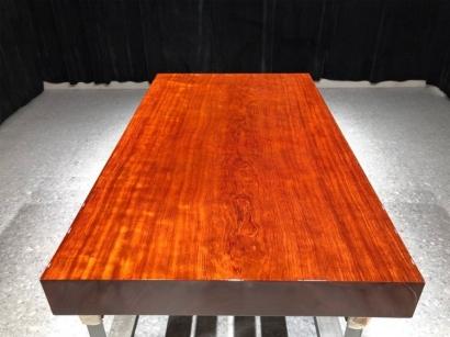 石家庄巴花实木大板桌