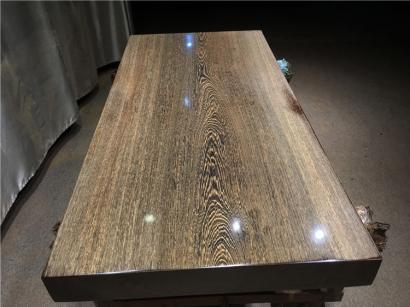陕西鸡翅木实木大板桌厂家