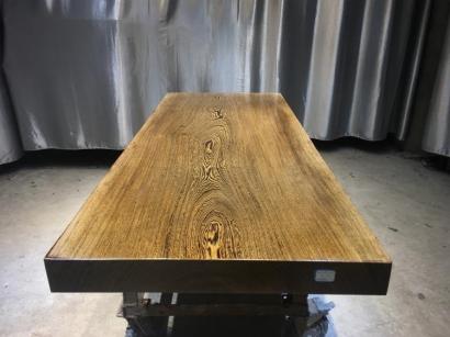 鸡翅木实木大板桌生产厂家