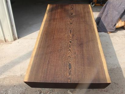河北鸡翅木实木大板桌
