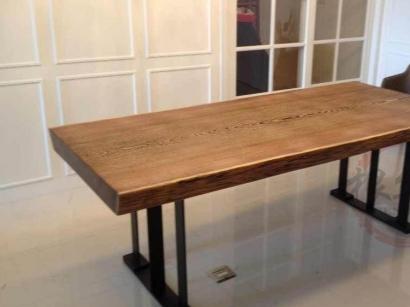 河南鸡翅木实木大板桌