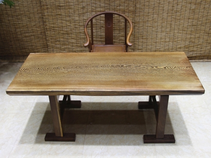 陕西鸡翅木实木大板桌