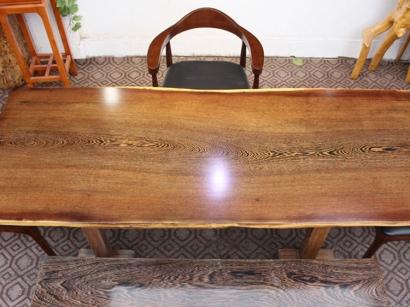 江苏鸡翅木实木大板桌