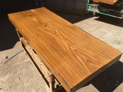 柚木大板桌