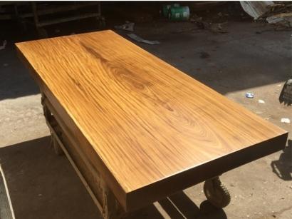 柚木实木大板桌