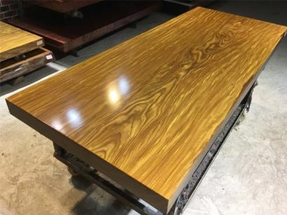柚木实木大板桌价格