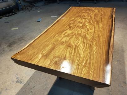 柚木实木大板桌厂家