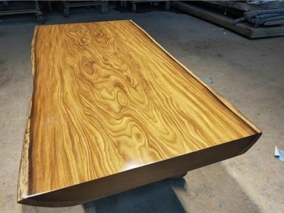 山西柚木实木大板桌