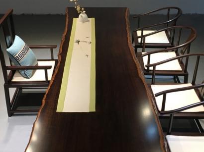 黑檀木大板桌厂家