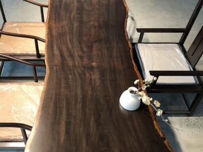 山西黑檀木大板桌