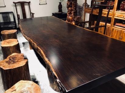 北京黑檀木大板桌