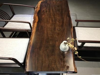 邯郸黑檀木大板桌