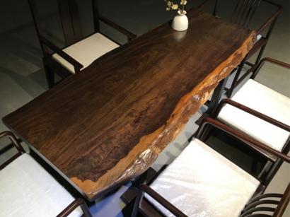 江苏黑檀木大板桌
