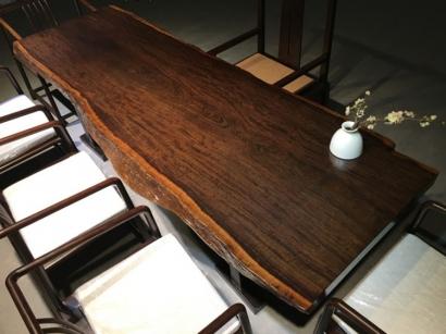 安徽黑檀木大板桌