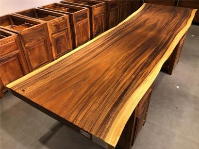 胡桃木大板桌厂家