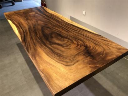 聊城胡桃木大板桌