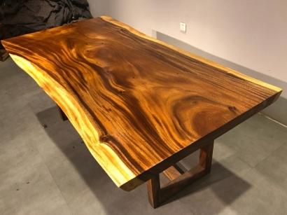 河北胡桃木大板桌