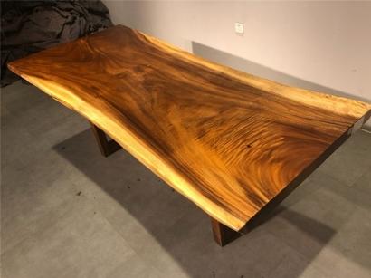 陕西胡桃木大板桌