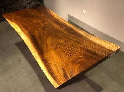 山西胡桃木大板桌