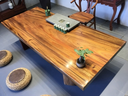 天津胡桃木大板桌