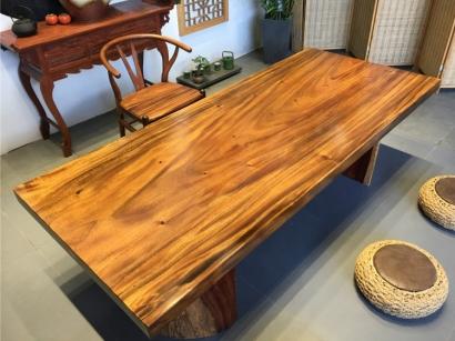 北京胡桃木大板桌