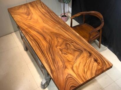 石家庄胡桃木大板桌