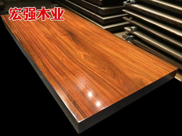 胡桃木大板桌